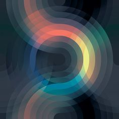 We're longtime fans of the mathematically-based paintings of Andy Gilmore. We're excited to check out some new work of his and are most enamored with. Graphic Design Illustration, Graphic Art, Photographie Street Art, System Wallpaper, Tomie Ohtake, Music Visualization, Generative Art, Illusion Art, Texture Art