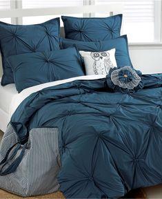 Tufted Squares 8 Piece Comforter Sets
