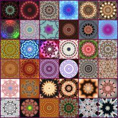 Mosaic of Kaleidoscopes & Mandalas