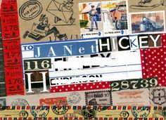 Collage Candy: Mail art: the beginning of beautiful friendships