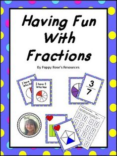 Having Fun With Fractions Concentration Games, Group Work, Numeracy, Fractions, Small Groups, Teaching Resources, 3 D, Have Fun, Homeschool