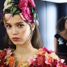 #StefanoGabbana Stefano Gabbana: From the Women Fall/Winter 2016-17 Fashion Show Backstage. #DGFabulousFantasy #dgfw17 #dolcegabbana ❤️❤️❤️❤️❤️