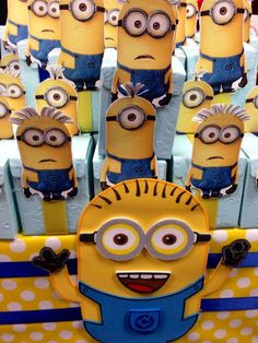 Minions Baby Shower Party Ideas | Photo 12 of 12 | Catch My Party