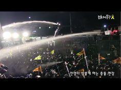 세월호 1주기, 전쟁터 방불케 한 광화문 집회 현장