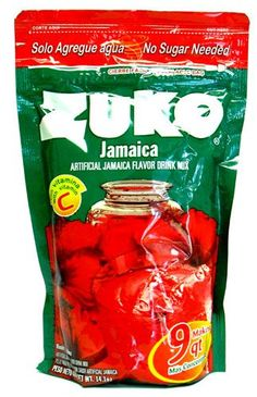 Zuko Hibiscus Flavor Drink Mix (Pack of Gourmet Recipes, Mexican Food Recipes, Snack Recipes, Zuko, Fresco, Jamaica Drink, Juice For Life, Horchata, Juicing For Health