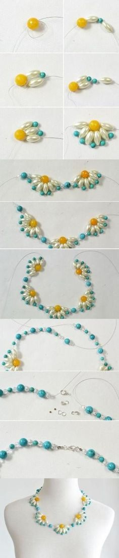 Do you like flower choker necklace? In this simple Pandahall tutorial, I'll show you how to DIY a flower choker necklace step by step. Beaded Jewelry, Handmade Jewelry, Beaded Bracelets, Jewellery, Lc Jewelry, Silver Jewelry, Bead Crafts, Jewelry Crafts, Jewelry Stores Near Me