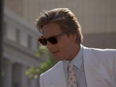 Crockett: (to Tubbs) 'Thanks Pal' 'Calderone's Return: The Hit List (Part Season Episode 4 Don Johnson, Wayne Johnson, Division Miami, Nash Bridges, Michael Thomas, American Crime, Miami Vice, Vintage Tv, Fashion Couple