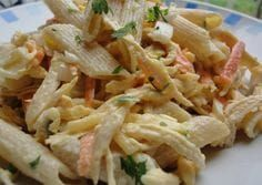 Pasta and chicken salad with yogurt dressing Recipe by Rebe Coconut Milk Nutrition, Pasta Nutrition, Broccoli Nutrition, Cheese Nutrition, Healthy Nutrition, Nutrition Guide, Healthy Eating Guidelines, Pasta Soup, Cooking Recipes