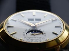 Rare Bird: Patek Philippe 18K Gold Perpetual Calendar with Moon Phases ref. 3448 for Tiffany & Co. To Be Auctioned by Leslie Hindman Auctioneers. http://www.watchcollectinglifestyle.com/home/rare-bird-patek-philippe-18k-gold-perpetual-calendar-with-moon-phases-ref-3448-for-tiffany-co-to-be-auctioned-by-leslie-hindman-auctioneers