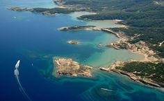 Auf der Insel Rab gibt es viele traumhafte Buchten