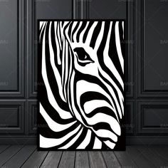 Picture wall Scandinavian - Abstract Wall Picture Poster Living Room Art Decoration Scandinavian Zebra Stripes Nordic Canvas Painting Prints No Frame. Zebra Painting, Zebra Art, Painting Prints, Art Prints, Spray Painting, Poster Prints, Nature Prints, Picture Wall Living Room, Living Room Art