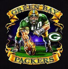 Green Bay Packers -  K will LOVE this for a poster!