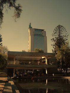 Parque Bustamante, Providencia. Santiago de Chile.