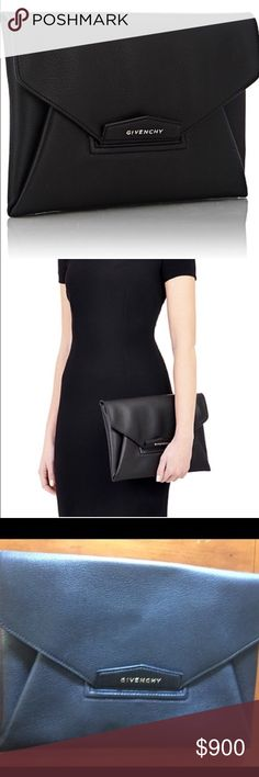 Givenchy Clutch *authentic* Great condition used once or twice. Price is negotiable. Givenchy Bags Clutches & Wristlets