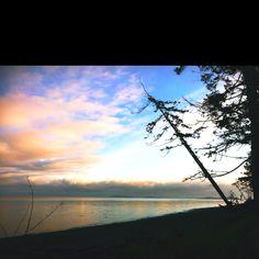 Rathtrevor Beach, Parksville BC Canada