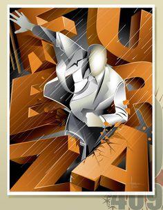 Digital Illustrations by Orlando Arocena
