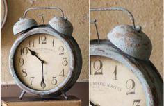 Blue Alarm Clock -decor steals {one deal a a day}~Enjoy Today's Steal from DECOR STEALS