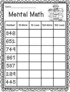33 Free Grade Math Worksheets Fall Math mental math grade math FREE math for second grade The kids can enjoy Number Worksheets, Math Worksheets, Alphabet Worksheets, Colo. Mental Maths Worksheets, 2nd Grade Worksheets, Place Value Worksheets, Subtraction Worksheets, Number Worksheets, Alphabet Worksheets, Second Grade Math, Grade 2 Maths, 2nd Grade Homework