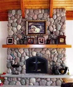60 River Rock Stone Molds make Fireplace Wall Veneer Stones, Fast USA Ship Brick Fireplace Makeover, Home Fireplace, Fireplace Design, Fireplace Mantels, Stone Fireplaces, Rustic Fireplaces, Mantles, Rock Veneer, Stone Veneer