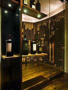 Modern Wine Cellar Newark Ch Portfolio, Modern Wine Cellar, Austin
