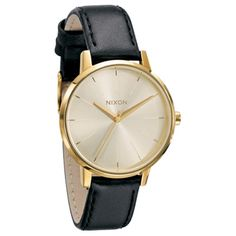 Nixon The Kensington Leather Watch - Womens $125.00