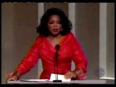 Oprah's speech for Tina Turner