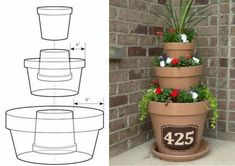 Nature Friendly Ideas for DIY Recycled Planters to Beautify Your Front Lawn . 33 Nature Friendly Ideas for DIY Recycled Planters to Beautify Your Front Lawn . 33 Nature Friendly Ideas for DIY Recycled Planters to Beautify Your Front Lawn . Recycled Planters, Garden Planters, Planter Pots, Planter Ideas, Herb Garden, Planters For Front Porch, Diy Front Porch Ideas, Fall Planters, Garden Yard Ideas