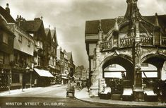Salisbury, Big Ben, Louvre, Street, Building, Travel, Construction, Trips, Traveling
