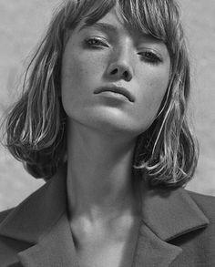 Model: Lou Schoof   Photographer: Simon Burstall   Stylist: Soraya Dayani   Hair: Michael Silva   Makeup: Justine Purdue