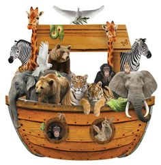 Noah's Ark Magnet | Paper House