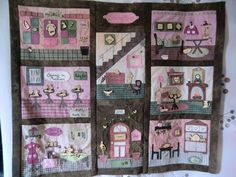 Quilthaus   doll house quilt