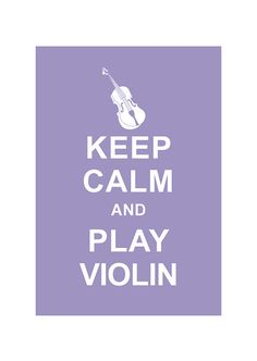 Keep Calm and Play Violin Music Illustration Personalized by simplygiftsonline, $10.80