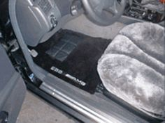 Custom made sheepskin floor mats for any type of vehicle!