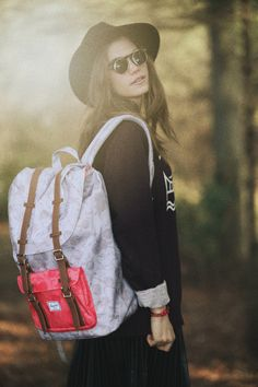 Herschel Supply: Fall light. Photo by Jessica Amber.
