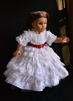 Gone with The Wind Scarlett O'Hara Civil War Dress for American Girl Lumi | eBay