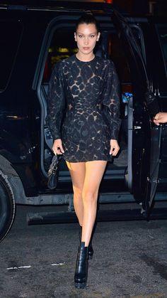 Bella Hadid Off-Duty Style - Image 22