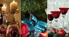 Veja dicas e fotos com o passo a passo, para você fazer enfeites baratinhos e criativos para o Natal.