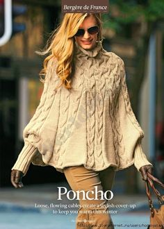 Womens knitted cape poncho boho cape palantine cloak shawl braided cape knit shrug bolero made to order custom made wool poncho Poncho Cape, Wool Poncho, Knit Shrug, Knitted Poncho, Crochet Shawl, Poncho Knitting Patterns, Knit Patterns, Cable Knitting, Vestidos Safari