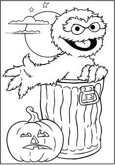 coloring pages sesame street.html
