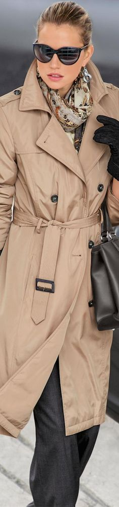MADELEINE TRENCH COAT SAND