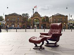 Stressless in Copenhagen. relax-chair, Pfister