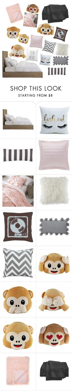 """""""Zara Bed Set    Zara Bedroom"""" by sandstorm-xox ❤ liked on Polyvore featuring interior, interiors, interior design, home, home decor, interior decorating, Pine Cone Hill, PBteen, BCBGeneration and Décor 140"""