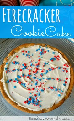 Make a cookie cake u