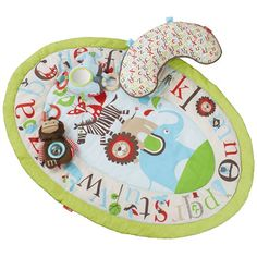 Skip Hop Tummy Time Mat Alphabet Zoo