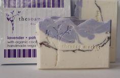 Handmade Lavender Patchouli Coconut Milk Soap