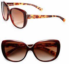 Christian Dior Taffeta 2 Square Textured Sunglasse
