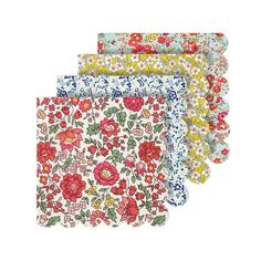 Liberty Floral Mixed Pattern Napkins  | Party Supplies & Decorations for Bridal Shower | Baby Shower | Birthdays | Brunch & More
