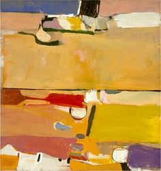 A Day at the Race, 1953 by Richard Diebenkorn.