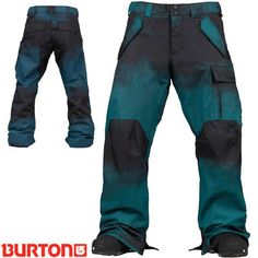 Burton Poacher Snowboard Pants - Pipeline Bright Blue - 2014| Mens Snowboard Pants | FREE UK DELIVERY