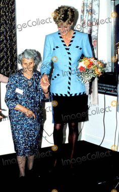 Princess Diana Mid Glamorgan Photo: Dave Chancellor / Alpha / Globe Photos Inc 1992 Princessdianaretro